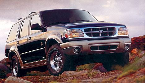 Фото Ford Explorer II