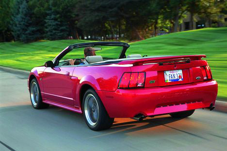 Фото Ford Mustang Convertible IV